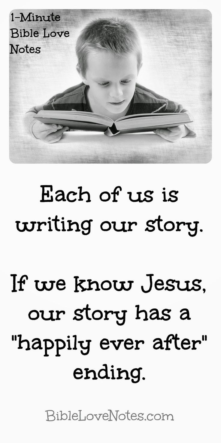 """We are all writing a story: Did you know that most fiction--adult and children's--whether written by a Christian or atheist has a sense of """"cosmic justice"""" involved. This shows that """"the requirements of the law are written on [our] hearts"""" just as God designed (Romans 2:15). More thoughts in this 1-minute devotion."""