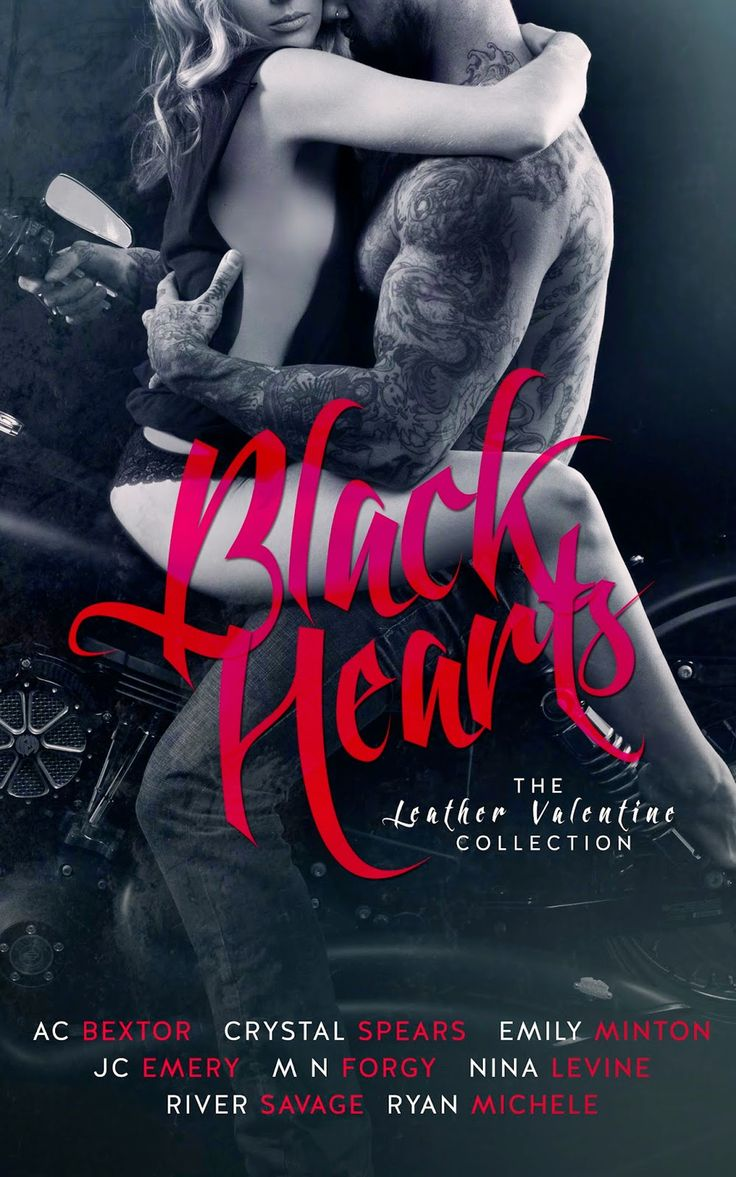 COVER REVEAL: Black Hearts (The Leather Valentine Collection)  - 8 bestselling MC authors! - iScream Books