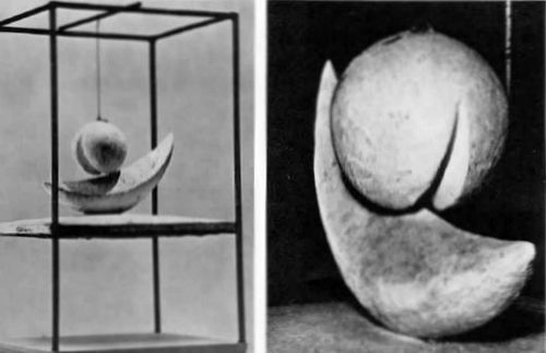 an analysis of alberto giacomettis sculpture suspended ball Suspended ball (boule suspendue), 1930–31 plaster, painted  a preeminent  artist of the twentieth century, alberto giacometti (1901–1966.