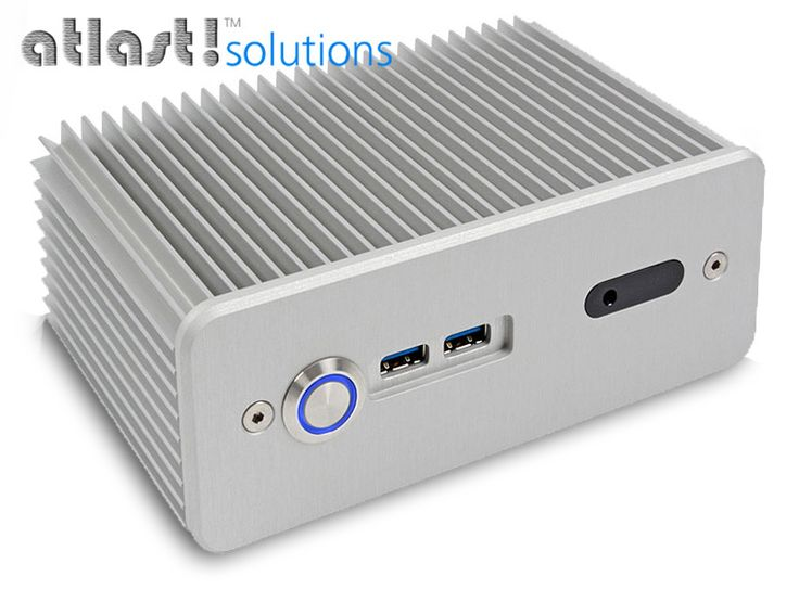 "Intel ""Haswell"" NUC Core i5 PC, 4GB DDR3, 60GB SSD in Impactics Fanless Case [WYB-D3NU1A-4-60]"