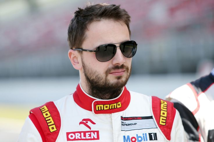 Kuba Giermaziak (PL),  Porsche Mobil 1 Supercup Test Barcelona