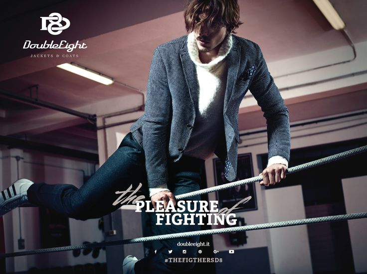 Double Eight - Jackets & Coats   The Pleasure of Fighting Fall/Winter 2015/2016 Collection!