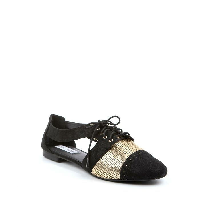 these are the shoes my dreams are made of <3  Steve Madden zwarte instappers CORI-C | Intreza.nl