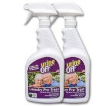 Urine-Off Eldercare Laundry Pre-Treat, 32 oz Spray, 2-Pack