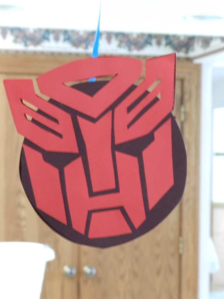 48 best Birthday Party- Transformers images on Pinterest ...