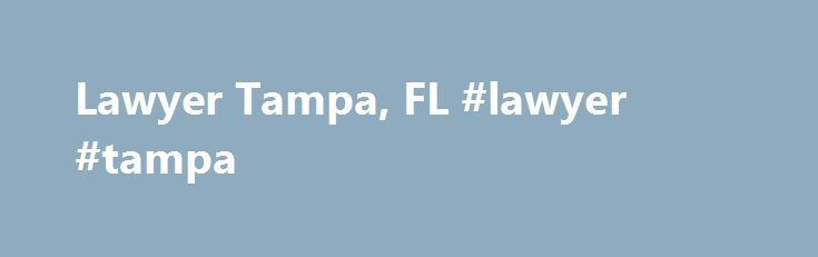 Lawyer Tampa, FL #lawyer #tampa http://texas.nef2.com/lawyer-tampa-fl-lawyer-tampa/  # Jenny Thomas Lawyer in Tampa, FL You never know when a legal issue may interfere your normal routine in Tampa, FL. If you're ever faced with an uncertain situation, let the law firm of Jenny Thomas offer counsel. We'll provide local representation from a lawyer who will stand by your side regardless of the circumstances. When you work with us, your information will be confidential, and we'll see that you…