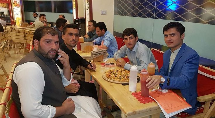 Friends Checked In Tandoori Pizza Afghanistan