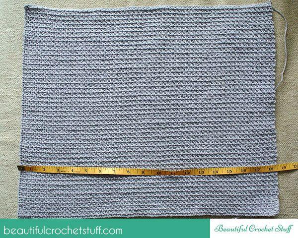 -Crochet-superior libre patrón