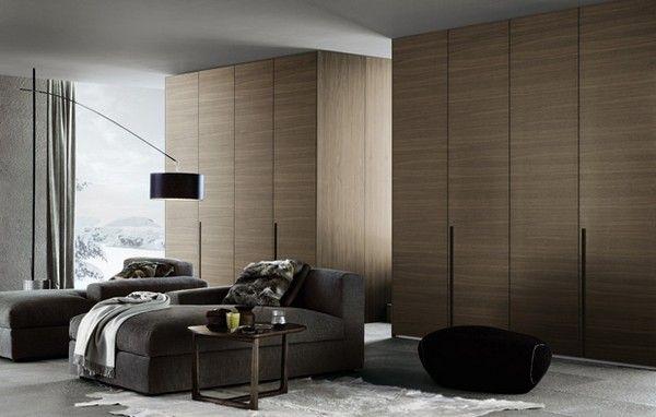 Holz Schrank Wohnzimmer Einrichtung | Möbelideen