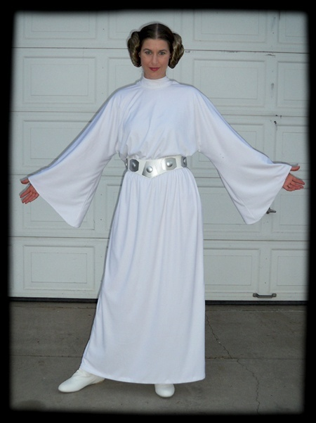 Princess Leia Costume Dress Pattern Halloween Leia