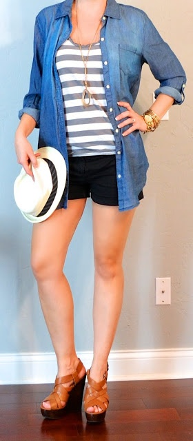 Outfit Posts: (outfits 6-10) one suitcase: beach vacation capsule wardrobe