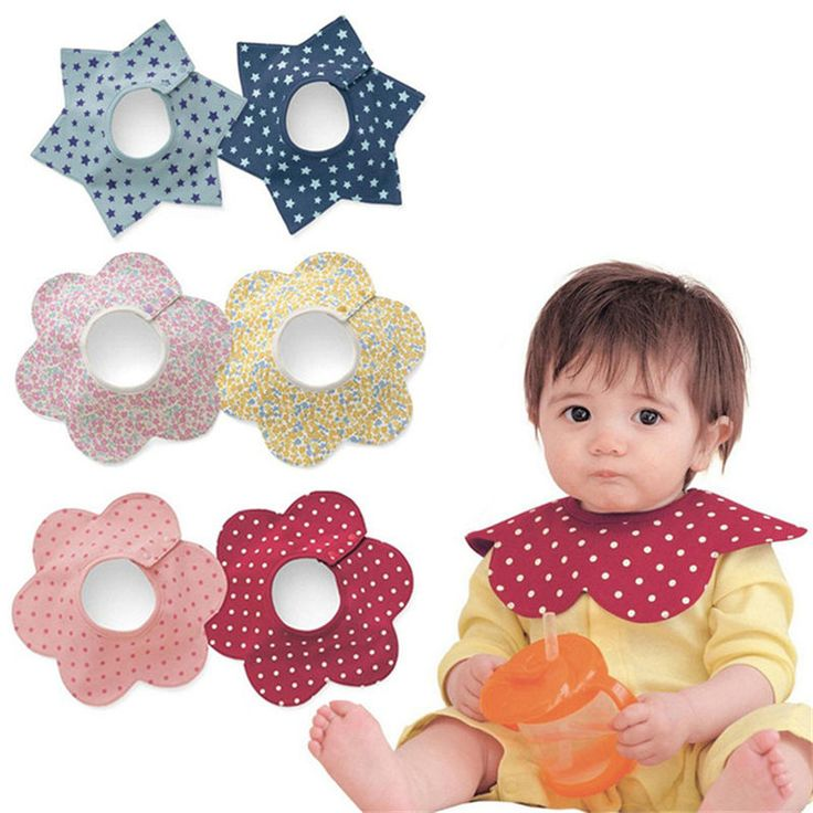 Baby Bibs Round Neck Burp 360 Degree Cloths Baby Slabbers Infantil Bandana Bibs For Infant Toddler Baby Kids Girl Boy 2016 New