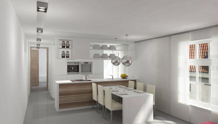 Houten Vloer Grijs : Keuken ontwerp met houten vloer ecosia