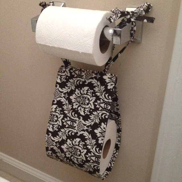 My Homemade Toilet Paper Roll Holder Thanks To Pinterest