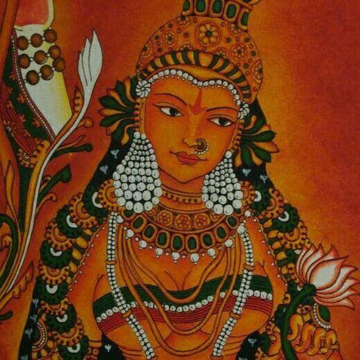 Mural lady