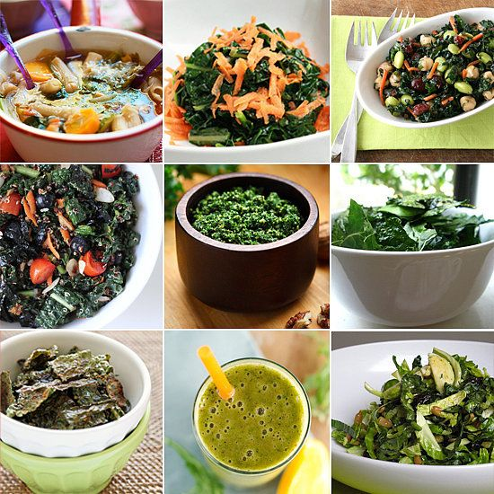 From Soups to Smoothies: 15 Recipes For Kale Even though kale might be one of the healthiest veggies around — it's packed with vitamins, minerals, and cancer-fighting phytonutrients — it's also incredibly versatile. It's great in soups, smoothies, and almost everything in between. Here are 15 ways to prepare this hearty, healthy green.— Additional reporting by Emily Bibb