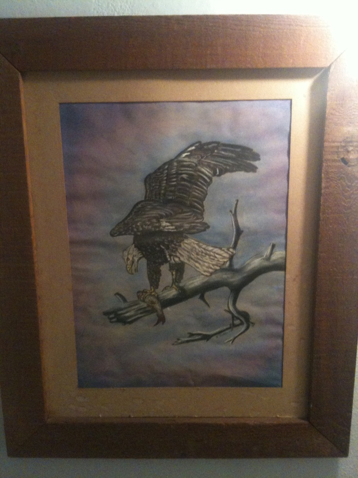 Father's art. Jerald Swain. 1980's
