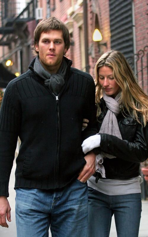Tom Brady (with Gisele Bundchen)