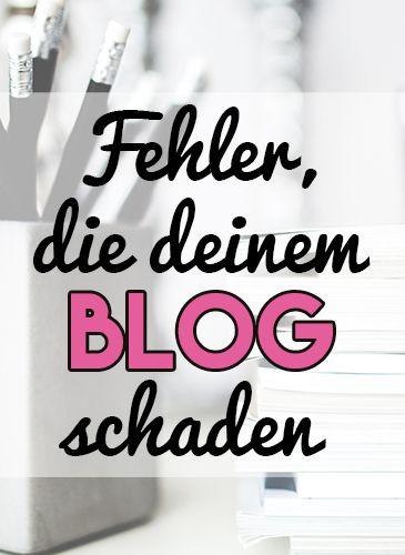 Es gibt viele Dinge, die du als #Blogger falsch machen kannst. Welche Fehler…