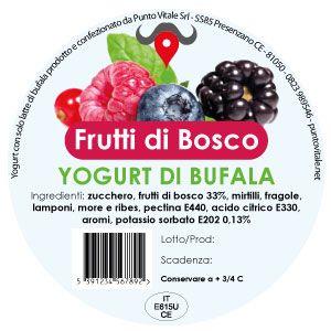 Yogurt di Bufala, gusto Frutti di Bosco: http://www.puntovitale.net/shop/yogurt-di-latte-di-bufala/yogurt-frutti-di-bosco