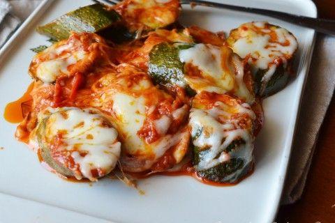 Zucchine pomodorini e mozzarella