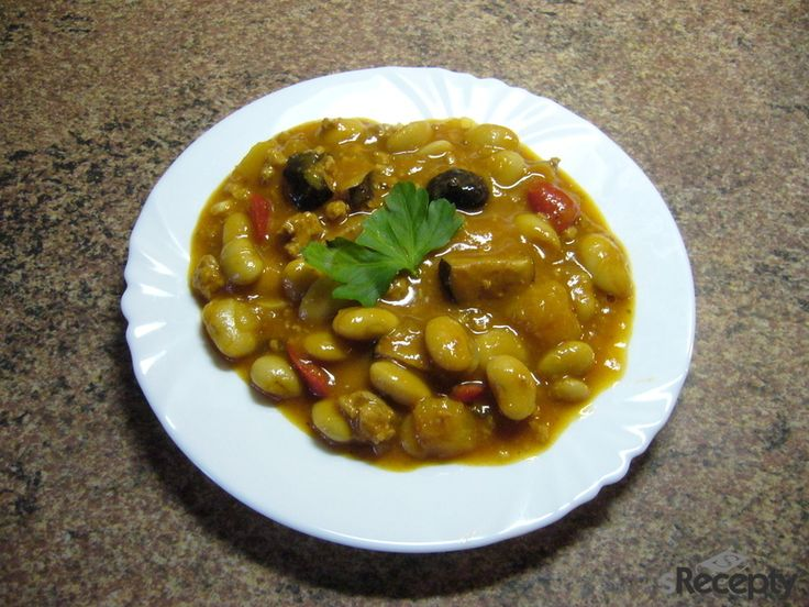 Pikantní fazole s mletým masem