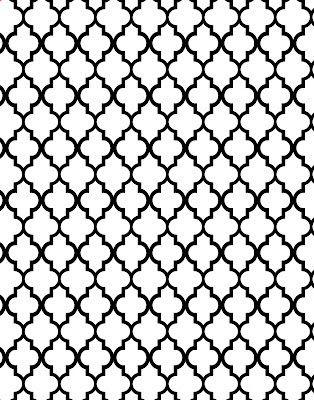 Freebie digi Patterns backgrounds: polka dots, moroccan, quatrefoil and damask!