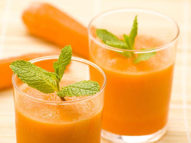 Морковный смузи с лаймом