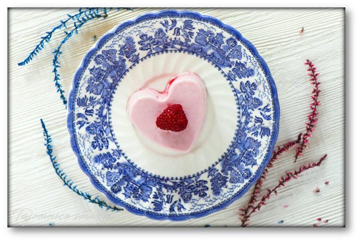Jogurtowo malinowe serca walentynkowe – Tajemnice smaku