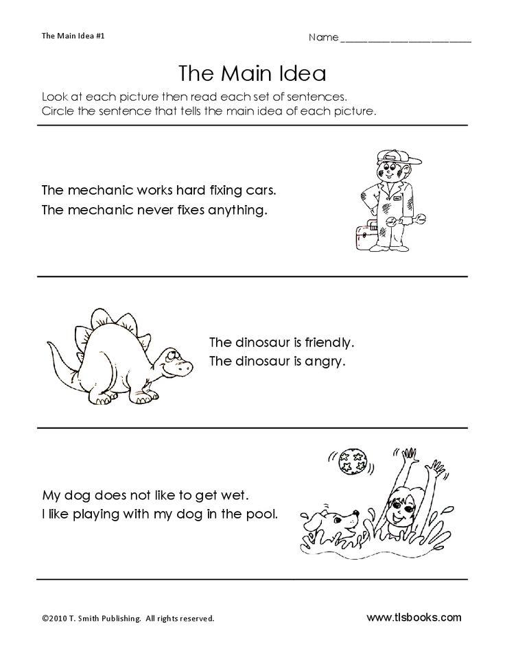 reading comprehension main idea worksheets 7th grade summarizing worksheets have fun. Black Bedroom Furniture Sets. Home Design Ideas