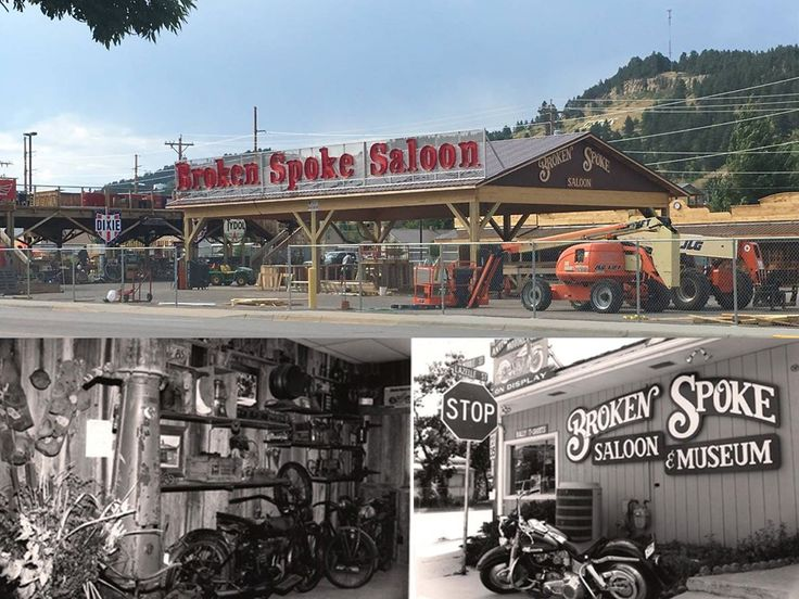 Original Broken Spoke Saloon Sturgis, South Dakota
