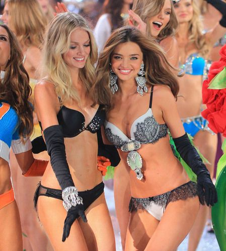 Miranda Kerr & Victoria's Secret #Models diet and #fitness #secrets..