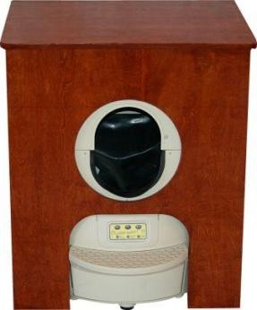 Litter Robot II Cabinet Cherry...the Fabulous Automatic Self Cleaning Litter