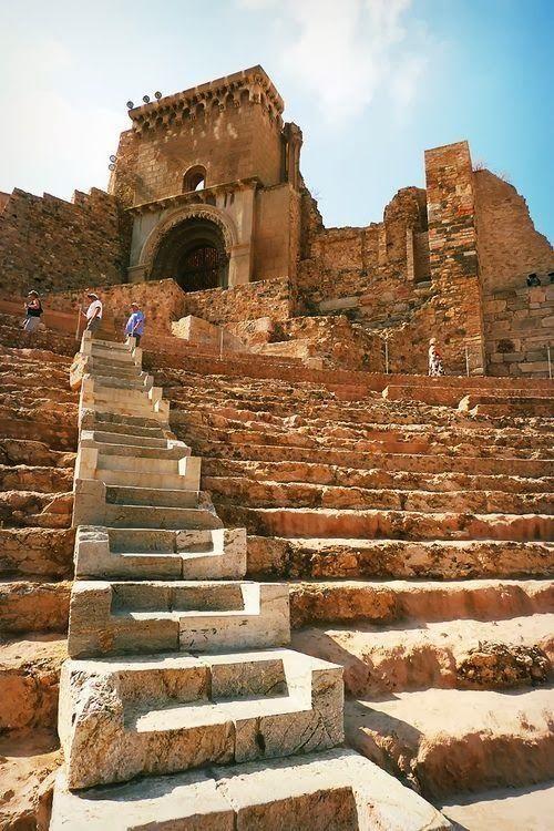 The Roman Theatre Of Cartagena, Spain!