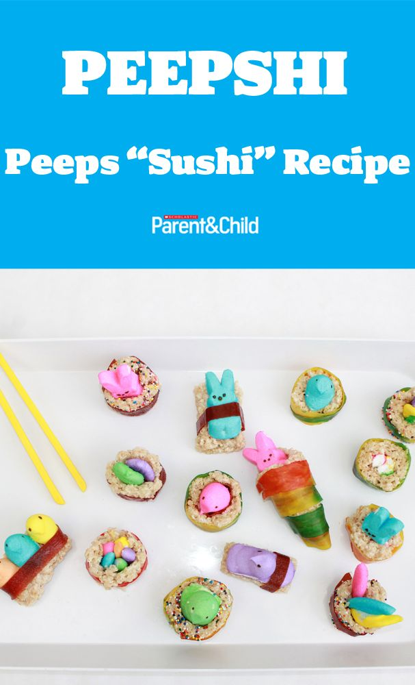 How to Make Peepshi | The two, Peeps and The o'jays