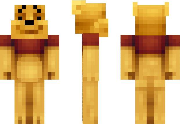 Winnie the Pooh Minecraft Skin   Minecraft Skins ...