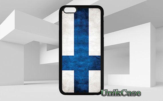 Finlande drapeau pour iPhone 4 4 s 5 5 s SE 6 s 6 par UnikCase1