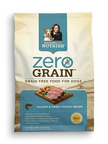 Rachael Ray Nutrish Zero Grain Natural Dry Dog Food, Salmon