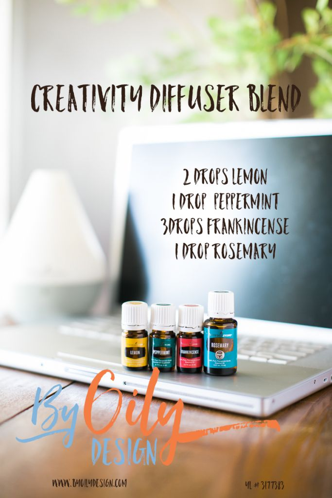Using Essential Oils to spark creativity and