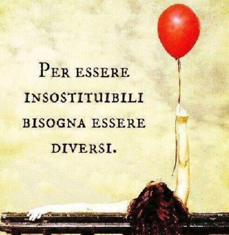 Per essere insostituibili, bisogna essere diversi