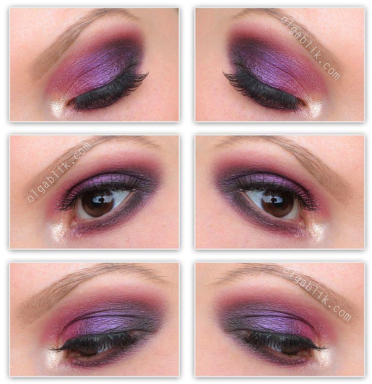 Sleek Makeup - i-Divine Eye Shadow Palette - Vintage Romance look
