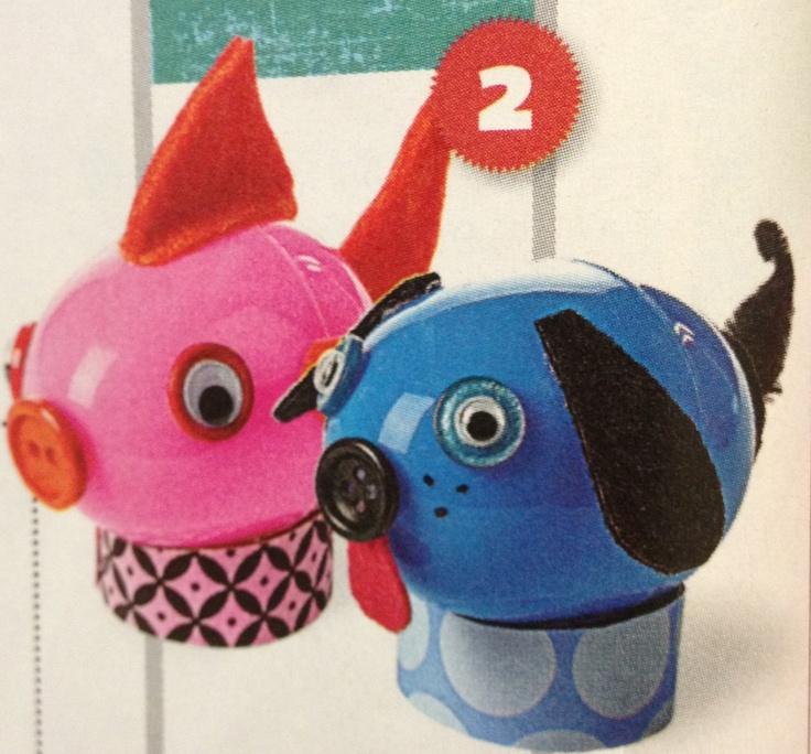 32 best animal crafts images on pinterest animal crafts for Plastic egg carton crafts