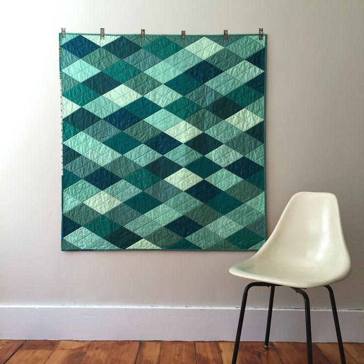 Teal Diamond Quilt                                                                                                                                                                                 More