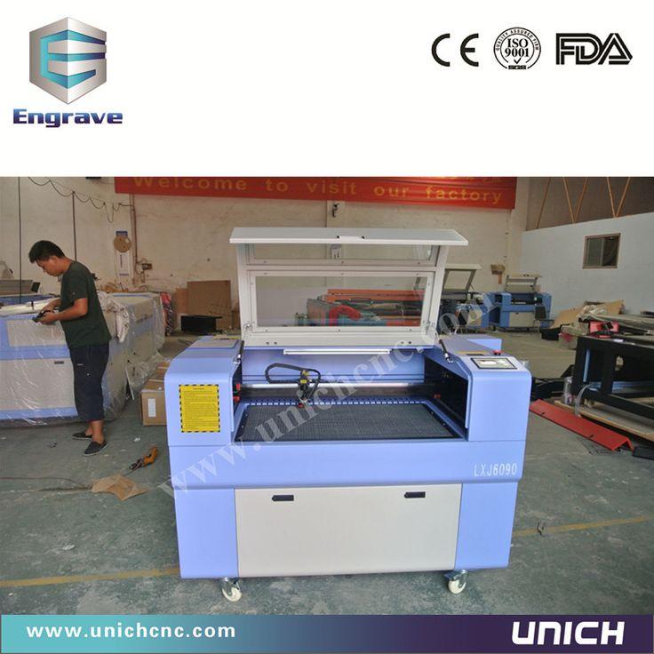 Цзинань дешево UNICH 6090 лазерный гравировальный станок и лазера со2 и лазерная резка дерева машина цена