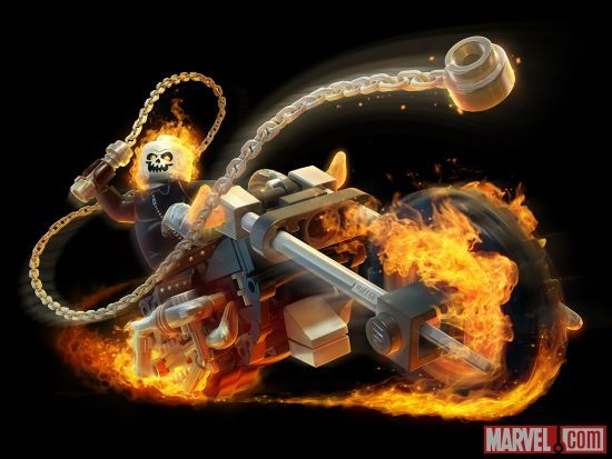 Ghost Rider in LEGO Marvel Super Heroes