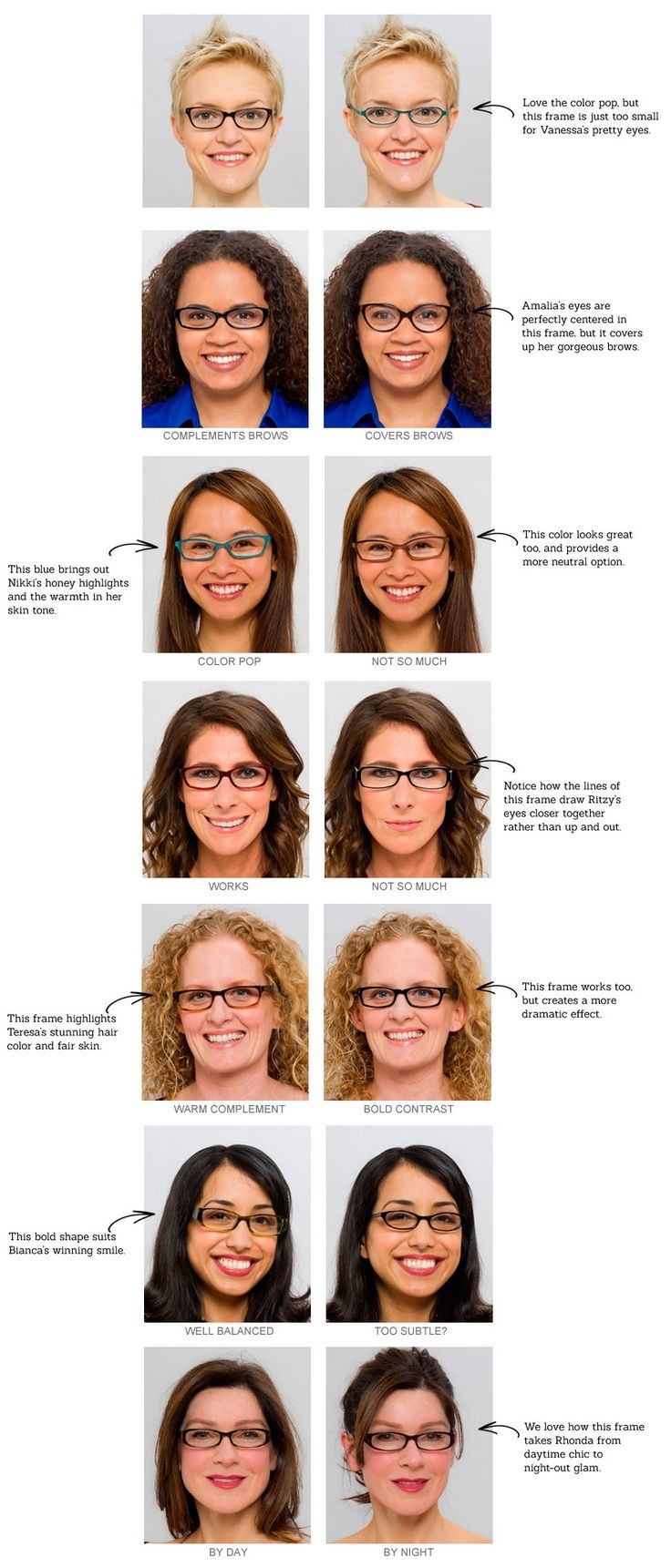 Find Eyeglass Frames For Face Shape : Find the perfect pair of glasses for your face shape ...