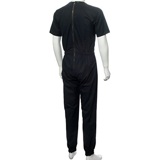 Amazon.com: Men's Anti Strip Jumpsuit with Opposite Direction Zipper Style 9 (XL): Health & Personal Care