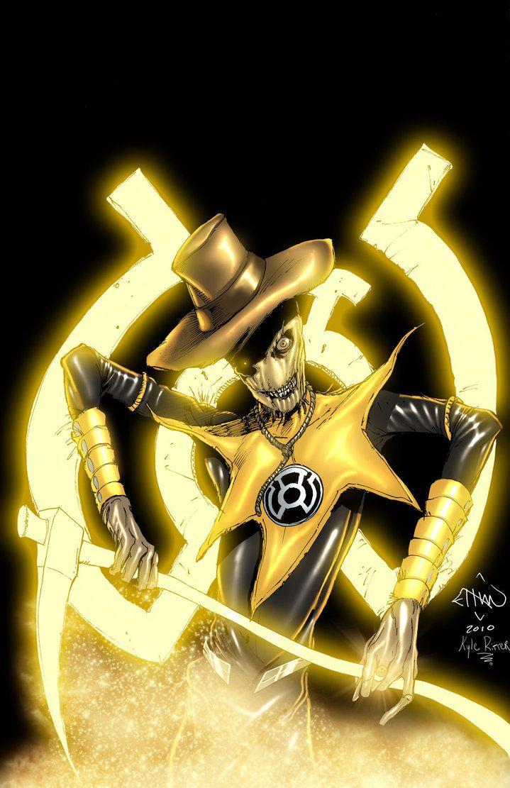yellow lantern black - photo #24