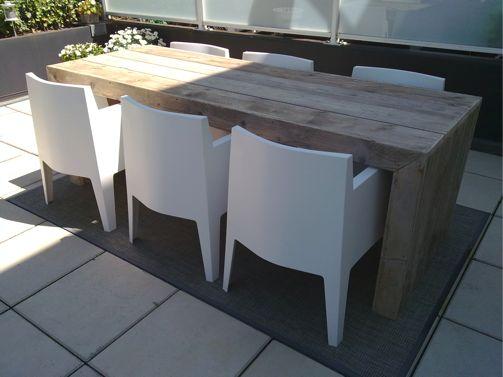 Steigerhouten tafel Munchen