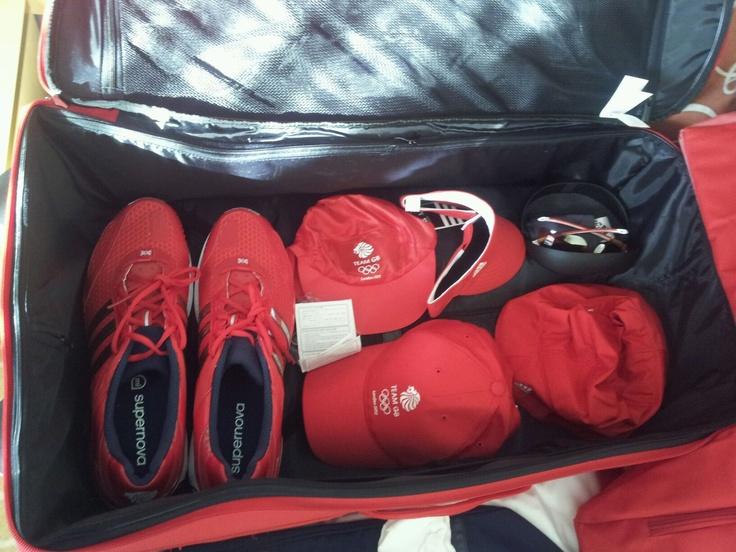 Marine Chris Sherrington's Adidas Team GB Kit